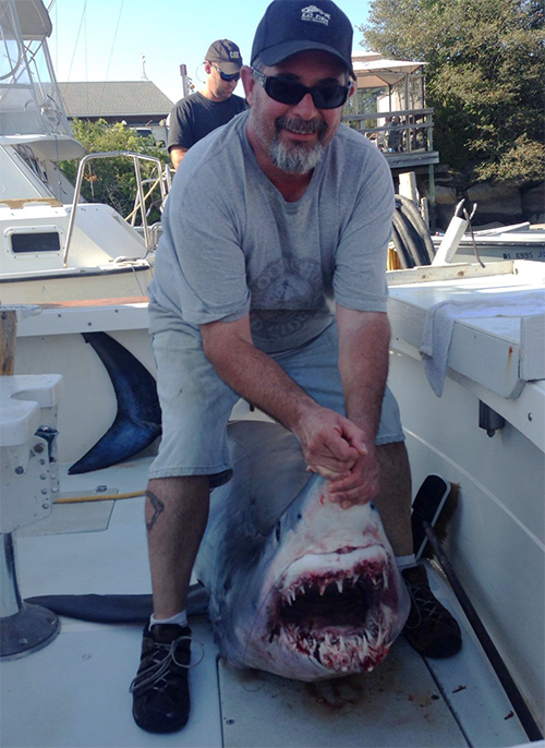 Tournament Master Chum, chum, mako, shark, Bob Neilson,
